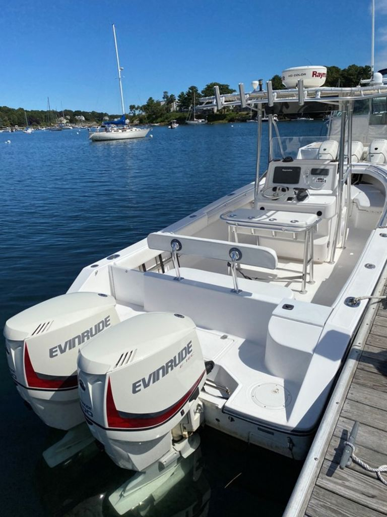 2002 Seacraft boat for sale, model of the boat is 25 Open Fisherman & Image # 4 of 8