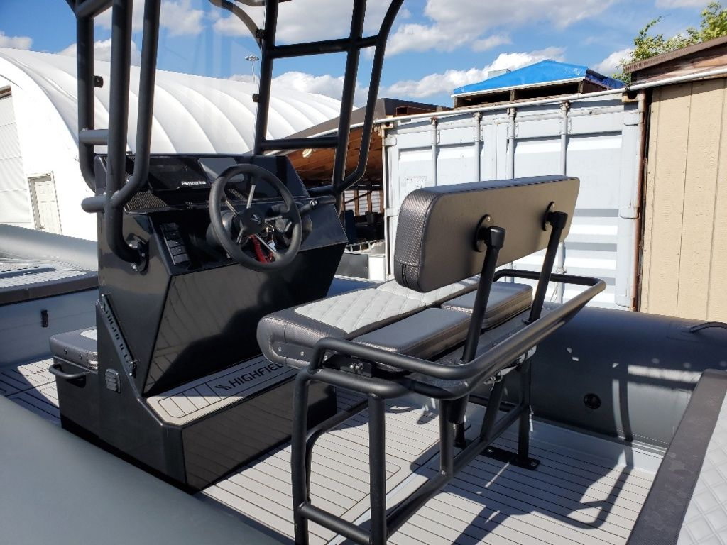 2021 Highfield boat for sale, model of the boat is Patrol 660 & Image # 5 of 6