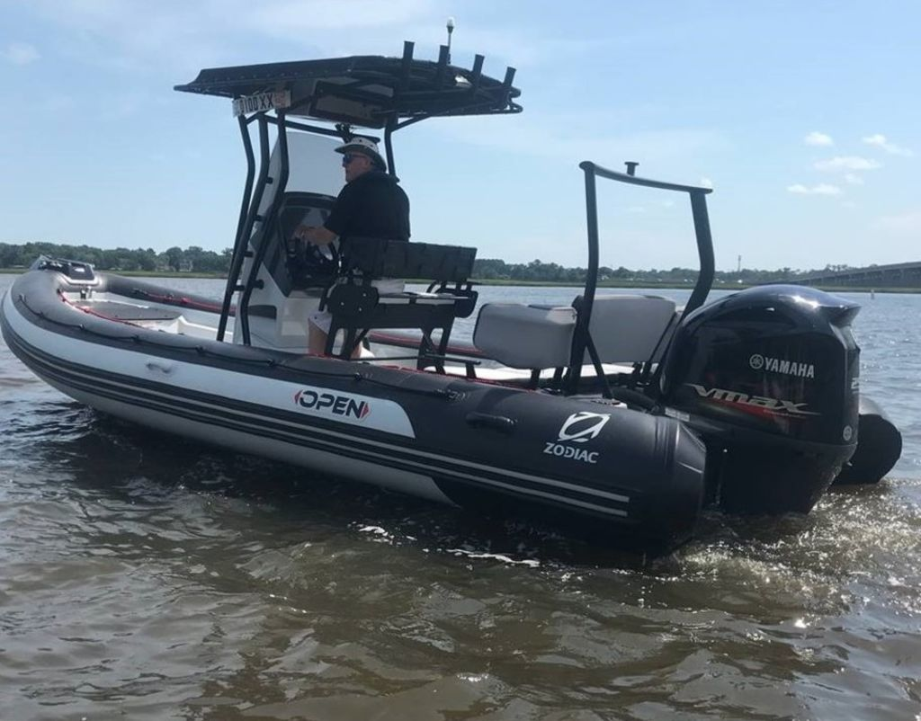 2020 Zodiac boat for sale, model of the boat is Pro 7 Open & Image # 2 of 12