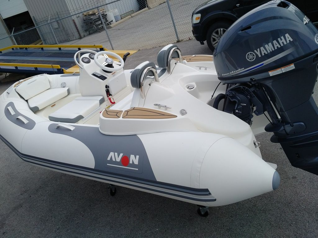 2019 Zodiac boat for sale, model of the boat is 360 SS & Image # 2 of 4