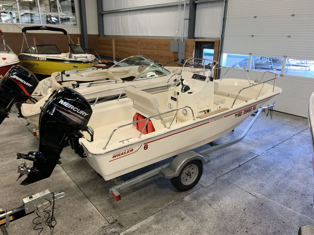 2019 Boston Whaler boat for sale, model of the boat is 15 Montauk & Image # 3 of 5