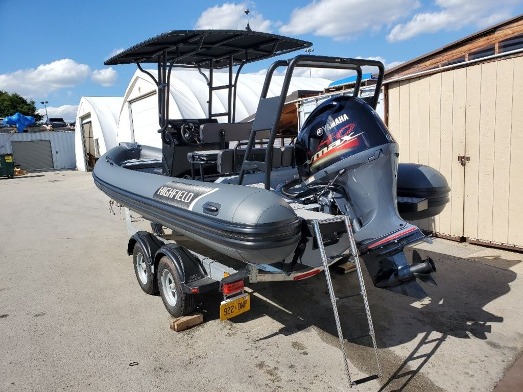 2021 Highfield boat for sale, model of the boat is Patrol 660 & Image # 4 of 6