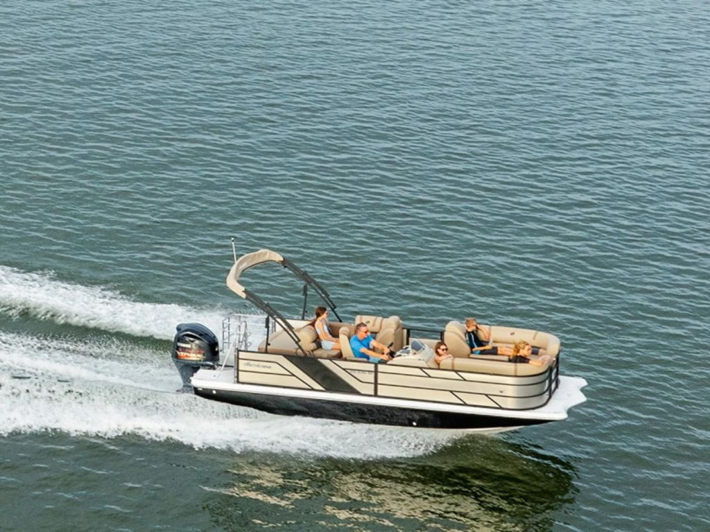 New  2021 Hurricane FunDeck 198 OB Pontoon Boat in Gulfport, Mississippi