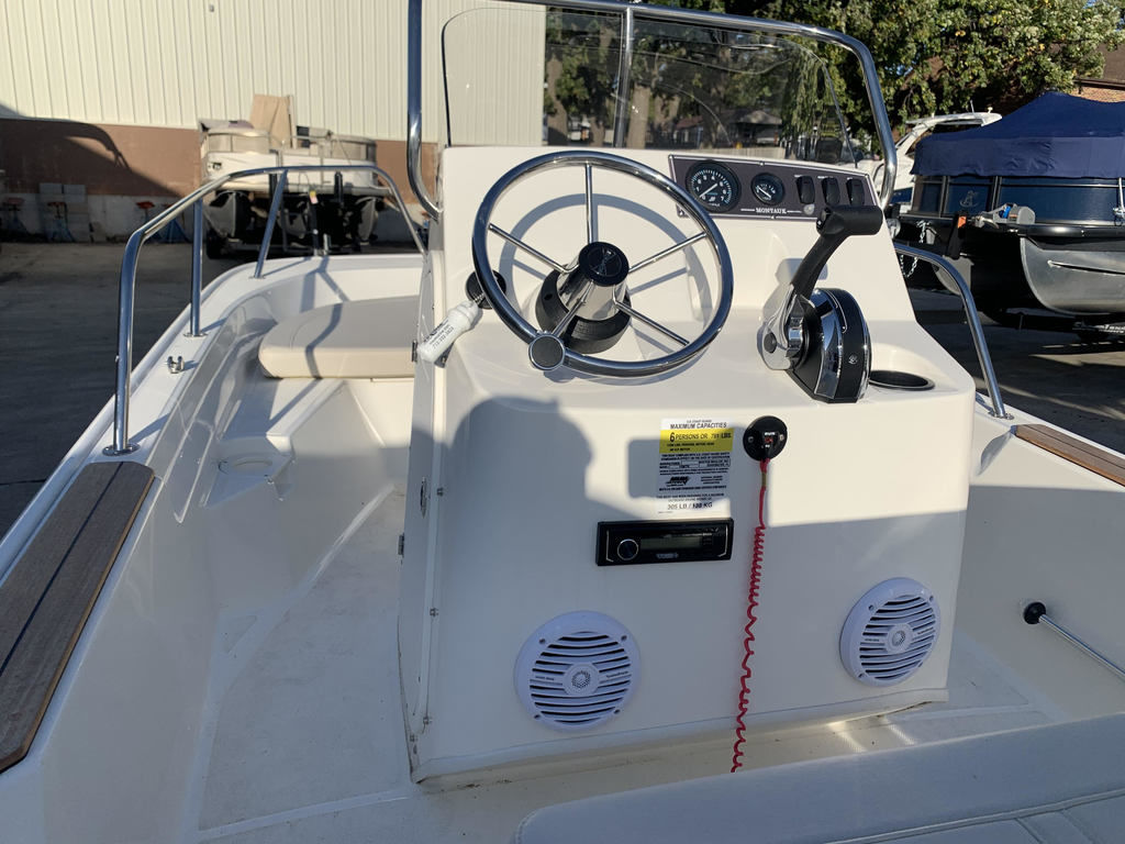 2019 Boston Whaler boat for sale, model of the boat is 15 Montauk & Image # 5 of 5