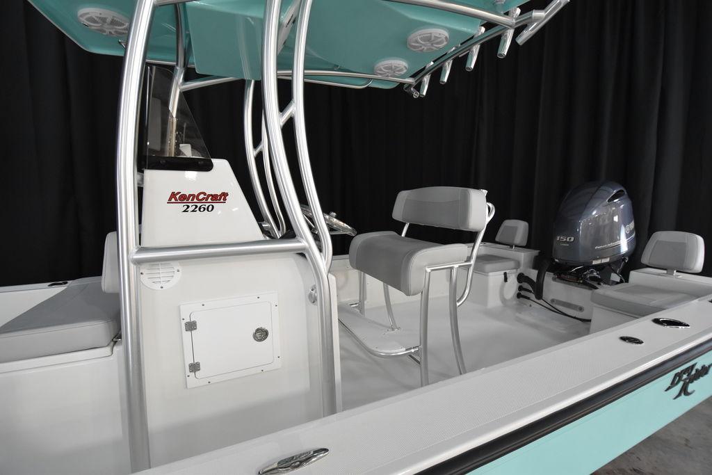 New  2021 KENCRAFT 2260FS BAY RIDER SKIFF Bay Boat in Gulfport, Mississippi