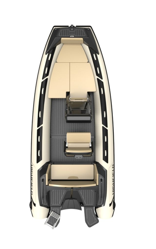 2021 Highfield boat for sale, model of the boat is Sport 560 Special Edition Hypalon & Image # 5 of 7