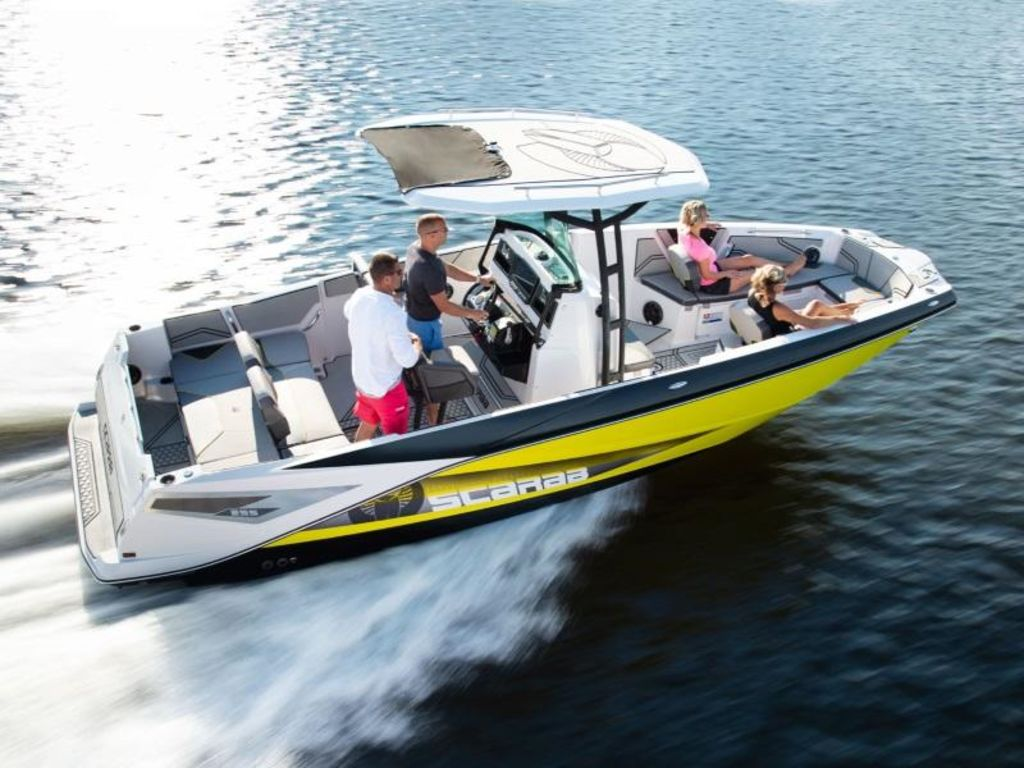 New 2020 Scarab 255 Open ID Center Console