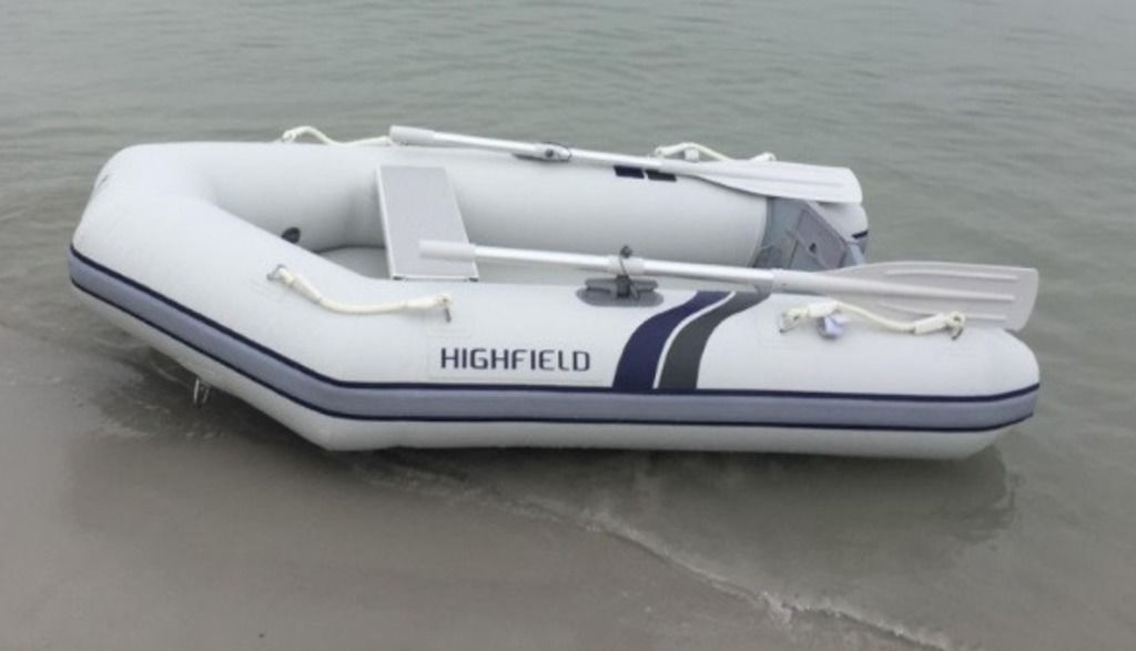 2021 Highfield boat for sale, model of the boat is RU 230 ALU Aluminum Floor Boards & Image # 1 of 3