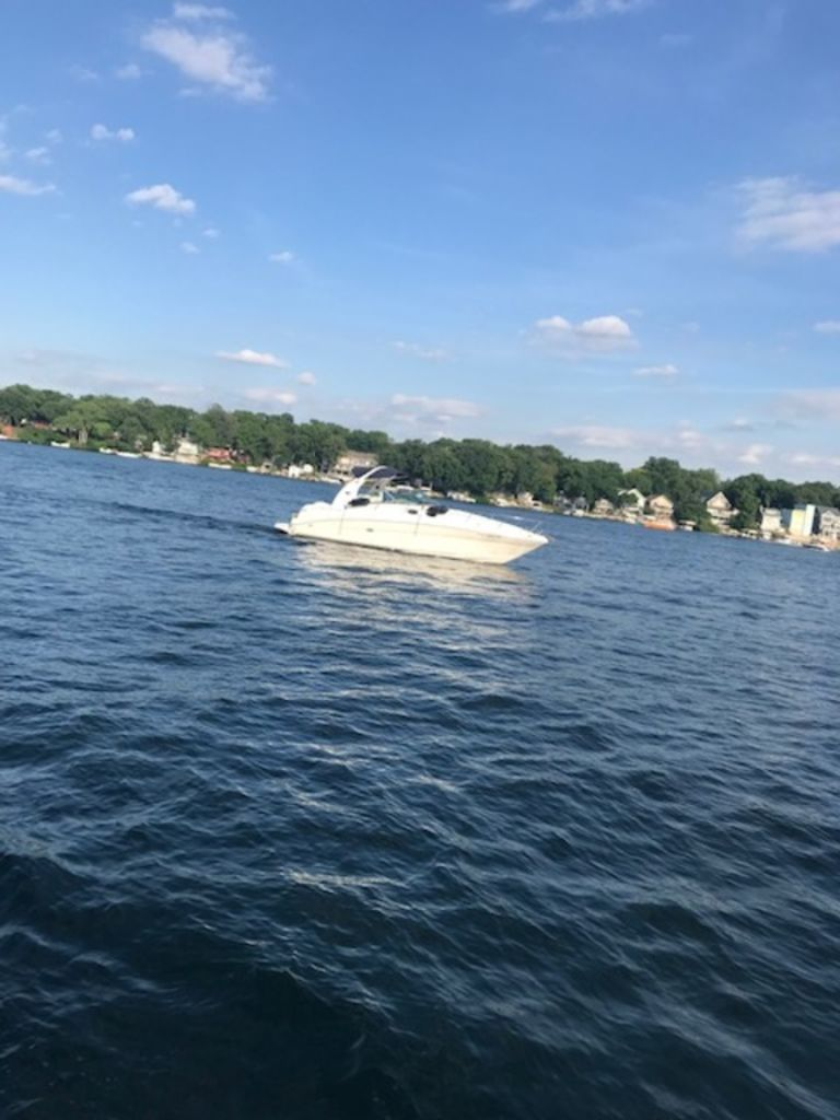 2005 Sea Ray boat for sale, model of the boat is 320 Sundancer & Image # 23 of 24