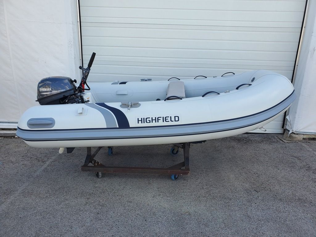 2019 Highfield boat for sale, model of the boat is 290 FT Hypalon & Image # 2 of 4