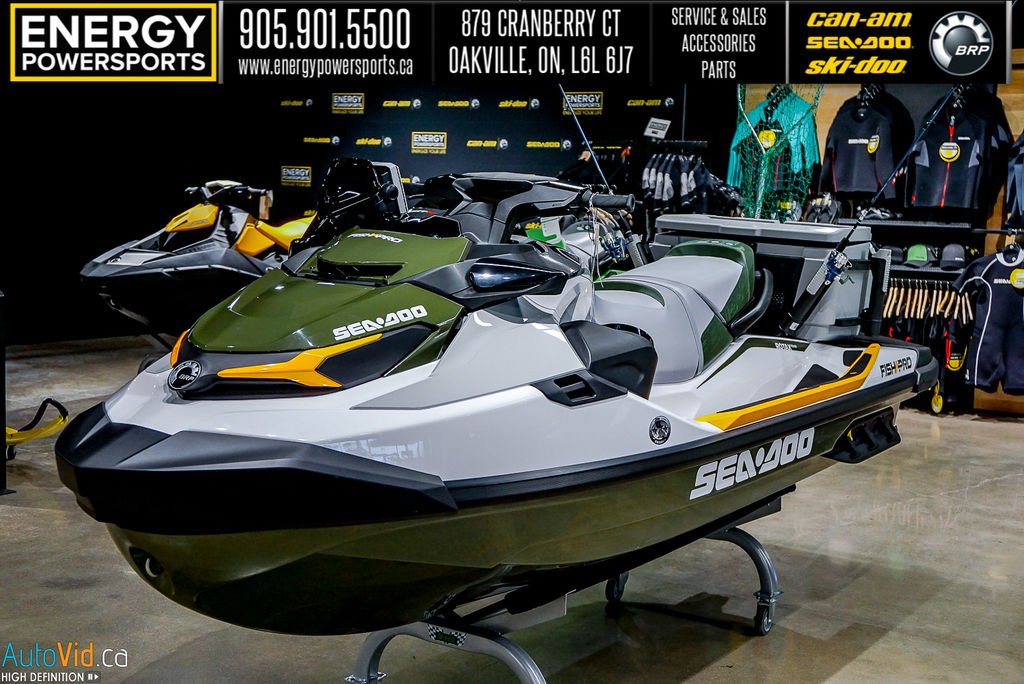 2020 Sea Doo PWC boat for sale, model of the boat is Fish Pro™ IBR & Sound System & Image # 3 of 15