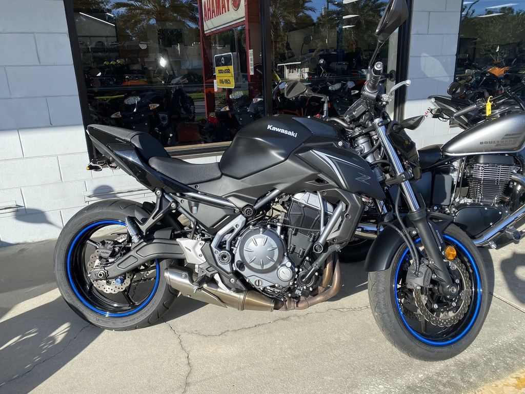Pre-Owned 2017 Kawasaki Z650 ABS Sport