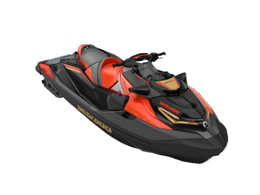2020 Sea Doo PWC boat for sale, model of the boat is RXT®-X® 300 IBR & Sound System Eclipse Black and Lava Red & Image # 1 of 1