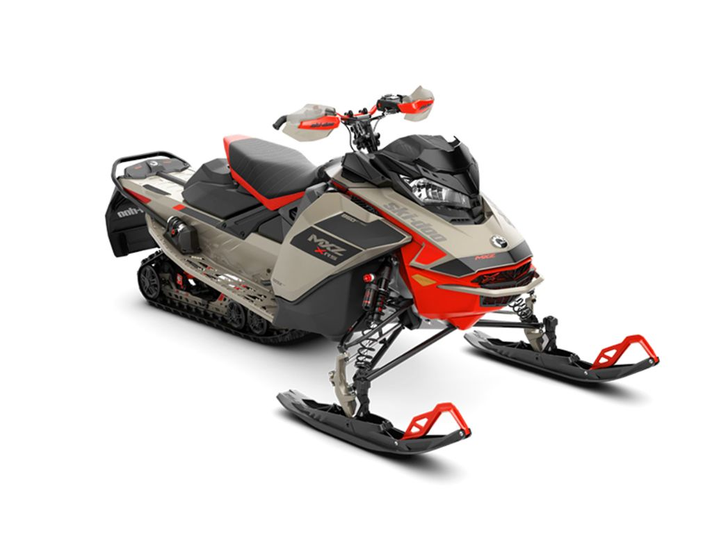 2021 Ski Doo MXZ® X-RS® Rotax® 850 E-TEC® QAS P. Ice R. XT 1.25 Red | 1 of 1