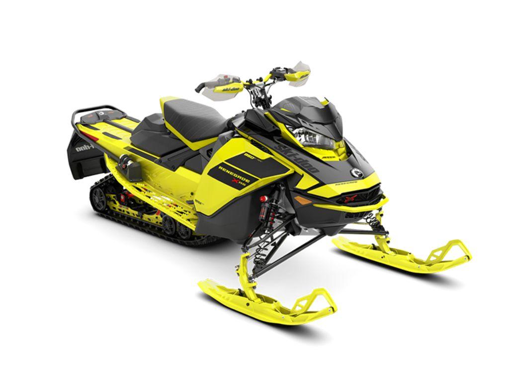 2021 Ski Doo Renegade® X-RS® Rotax® 850 E-TEC® Q. Adj. Rips. 1.25 Yellow_LCD | 1 of 1