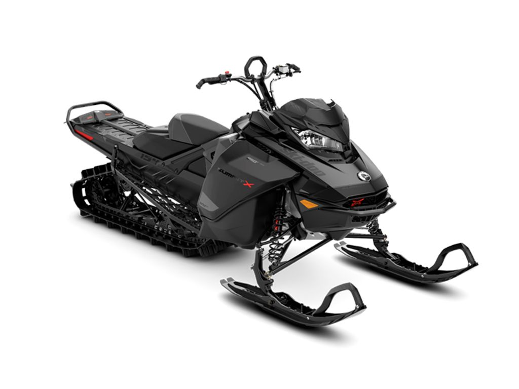 2021 Ski Doo Summit® X® 850 E-TEC® 154 ES PowderMax Light 2.5 S-Lev Black | 1 of 1