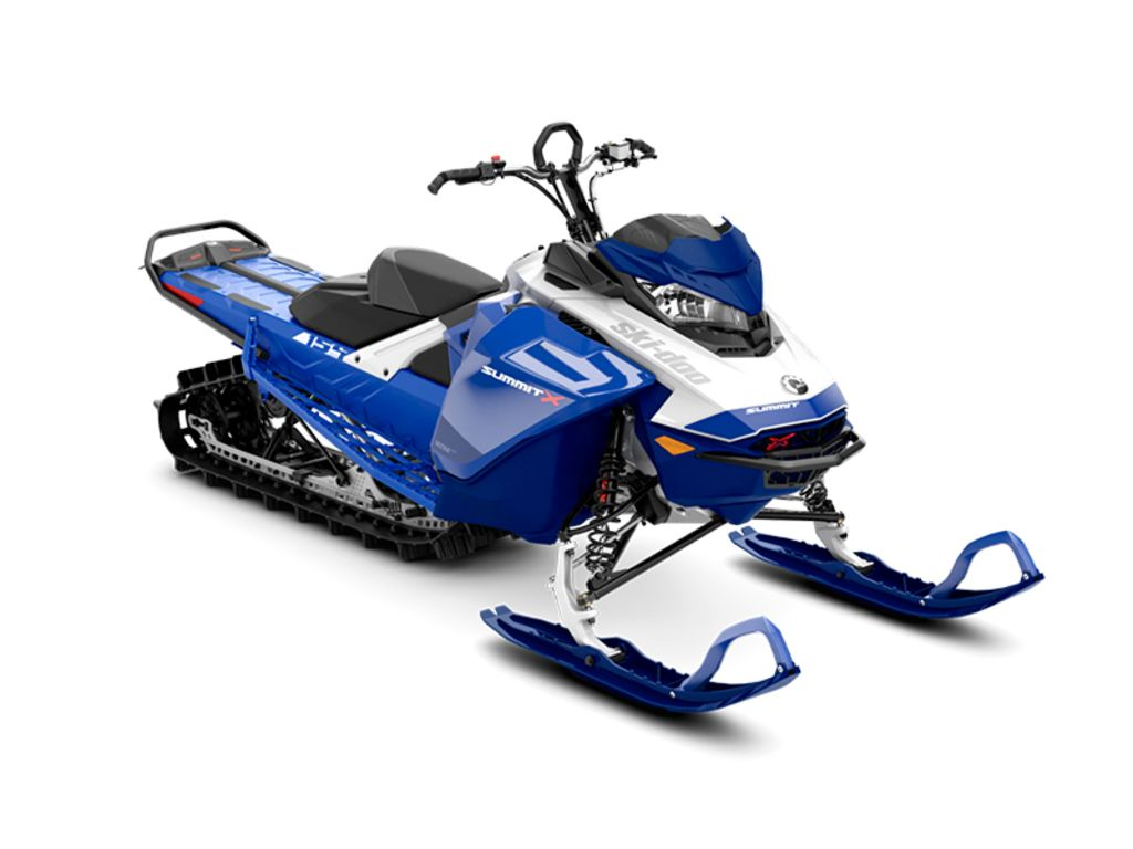 2021 Ski Doo boat for sale, model of the boat is Summit® X® 850 E-TEC® 154 ES PowderMax Light 2.5 H_ALT Blue & Image # 1 of 1
