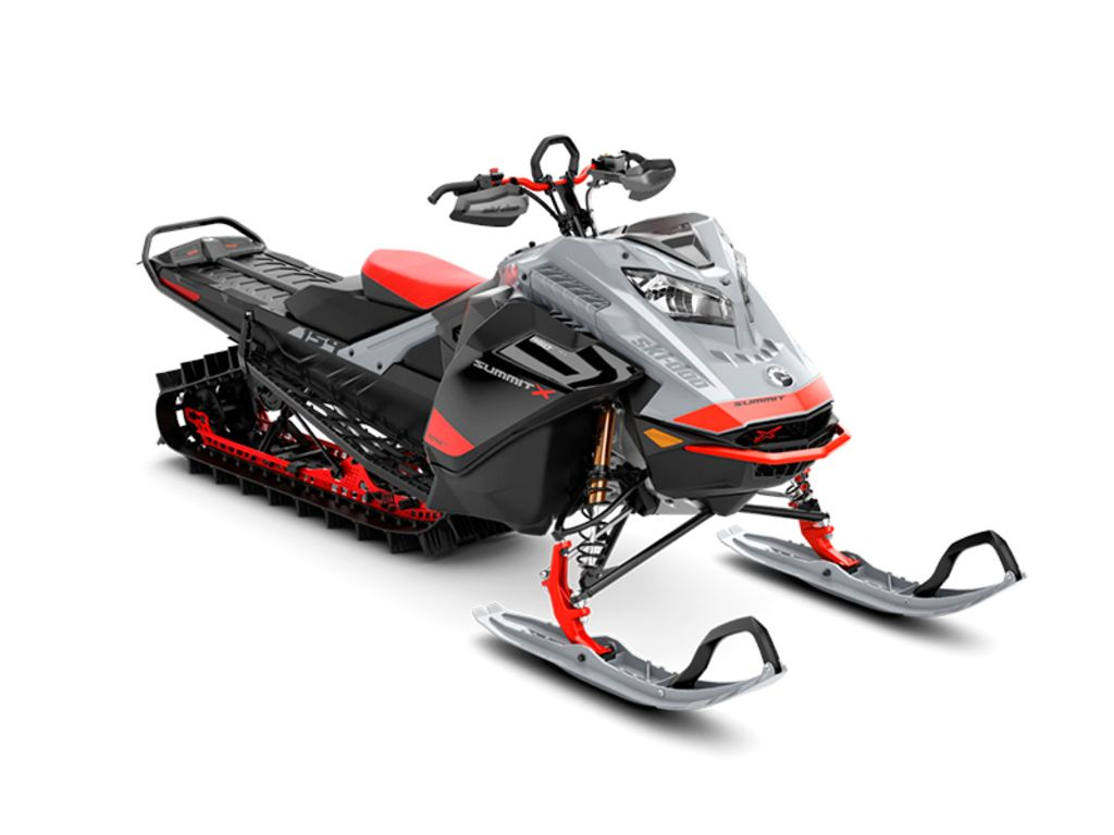 2021 Ski Doo Summit® X® with Expert Package 850 E-TEC® 154 PowderMax Light 2.5 H_ALT Red | 1 of 1