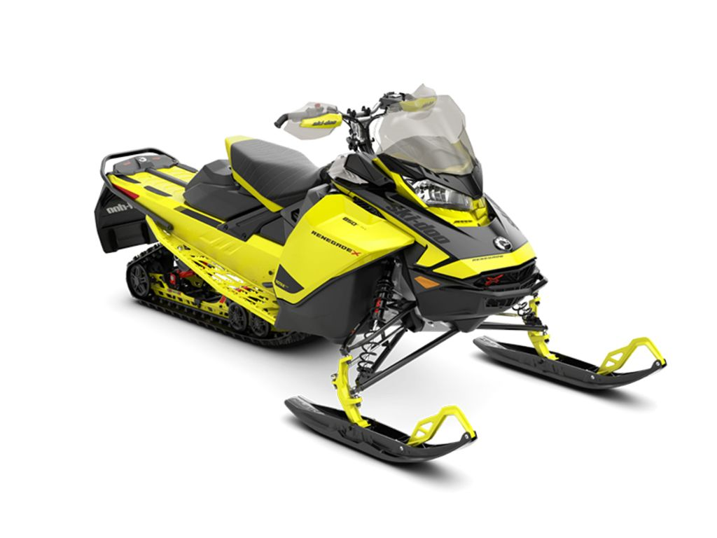 2021 Ski Doo boat for sale, model of the boat is Renegade® X Rotax® 850 E-TEC® Ice Ripper XT 1.25 Yellow_LCD & Image # 1 of 1