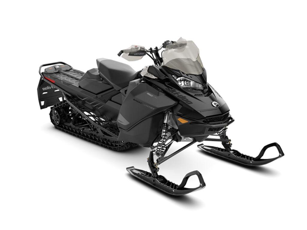 2021 Ski Doo Backcountry™ Rotax® 850 E-TEC® Black | 1 of 1