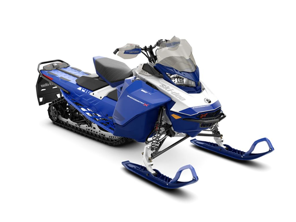 2021 Ski Doo Backcountry™ X® Rotax® 850 E-TEC® ES Ice Cobra 1.6 Blue_LCD | 1 of 1