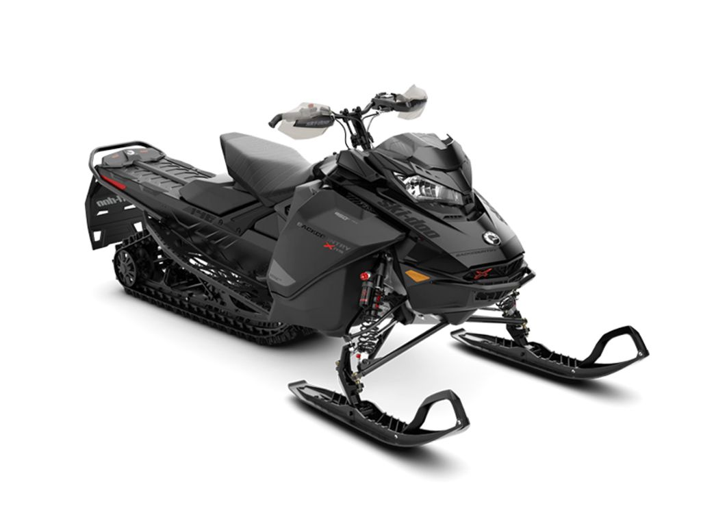 2021 Ski Doo boat for sale, model of the boat is Backcountry™ X-RS® Rotax® 850 E-TEC® 146 ES Cobra 1.6 Black_LCD & Image # 1 of 1