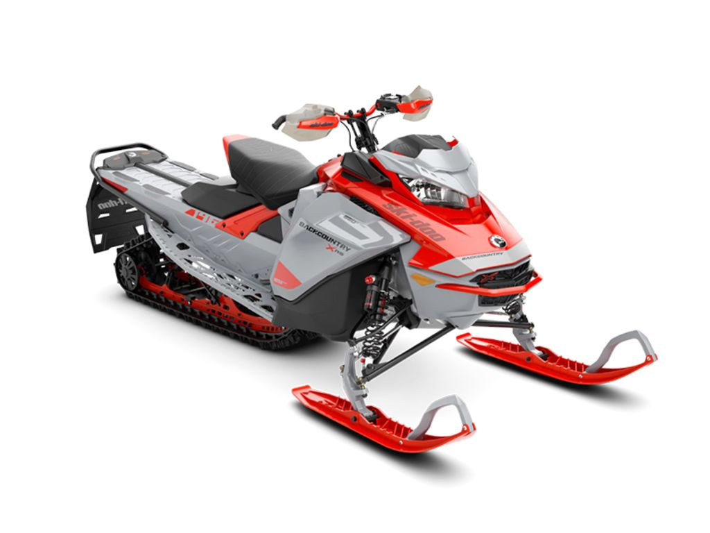 2021 Ski Doo Backcountry™ X-RS® Rotax® 850 E-TEC® 146 ES Ice Cobra 1.6 Red_LCD | 1 of 1