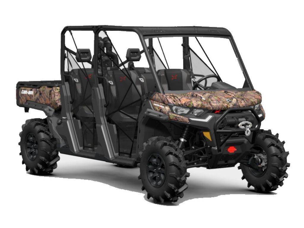 New  2021 Can-Am® Defender MAX X mr HD10 Mossy Oak Break-Up Country Camo Golf Cart / Utility in Houma, Louisiana