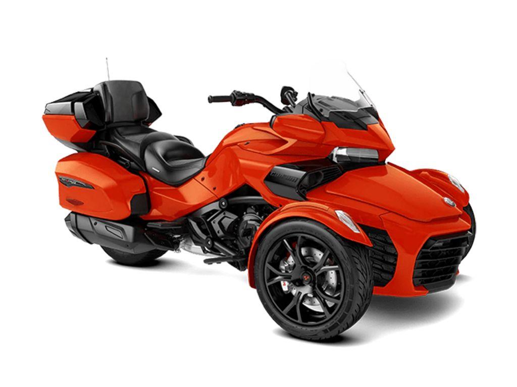New  2021 Can-Am® Spyder® F3 Limited Dark Trike in Houma, Louisiana
