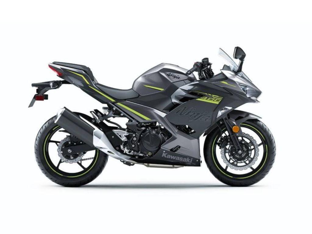 2021 Kawasaki Ninja® 400  ABS Metallic Gray/Metallic Magnetic Dark Gray
