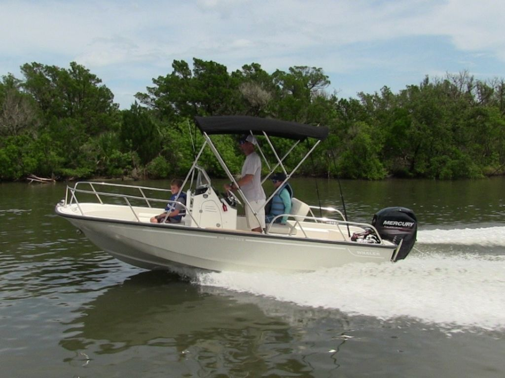 2021 Boston Whaler boat for sale, model of the boat is 150 Montauk & Image # 1 of 1