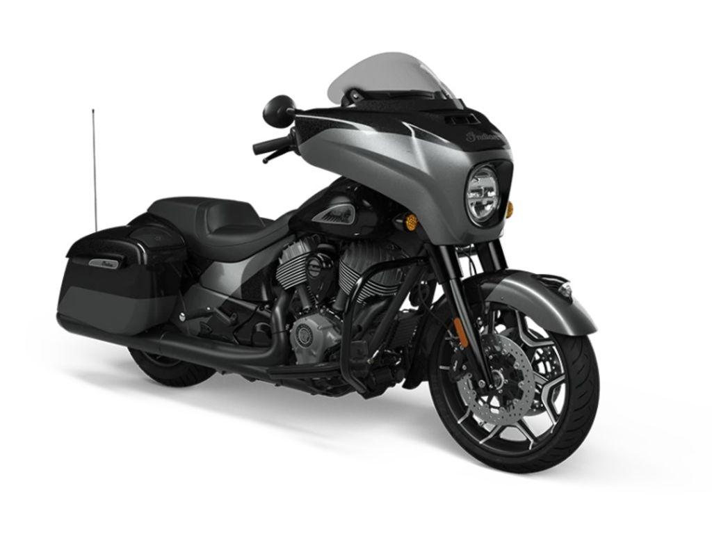 2021 Indian Motorcycle® Chieftain® Elite Thunder Black Vivid Crystal / Carbon Crystal