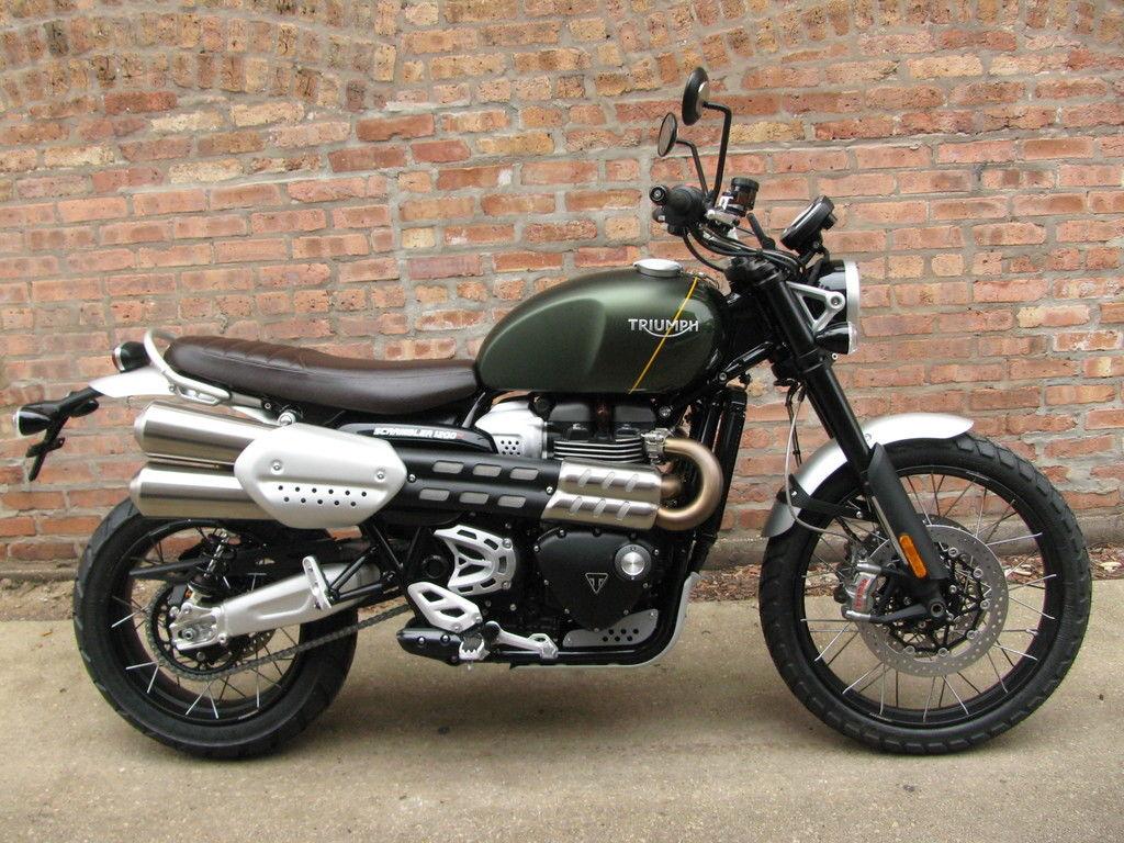 Motorrad Triumph Scrambler 1200 XC inkl. Zubehör, Baujahr