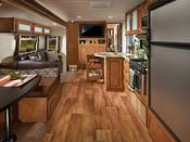 Interior of 2018 Forest River Wildwood Travel Trailer Available near Seattle, WA