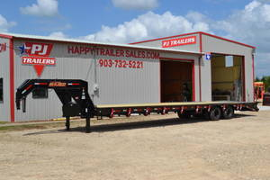 Hotshot Gooseneck Trailers For Sale | Texas | Trailer Dealership