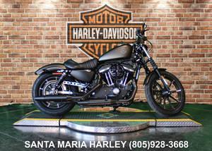 HD Black Harley Davidson Santa Maria California