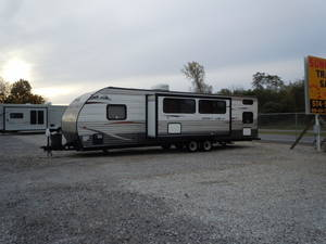 Used Park Models, Destination Trailers, Toy Haulers, Street Legal