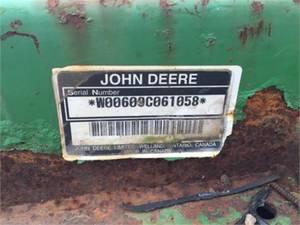 2004 John Deere 609 Stock: 61058 | Wehrle Brothers
