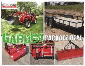 New Branson and Massey Ferguson Tractors for Sale