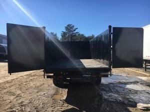 2019 Sure-Trac 8x20 Deckover 25 9K High Side Dump Trailer