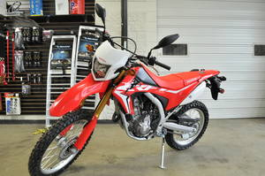 Used and New Honda CRF 250L motorcycle sales near Milwaukee