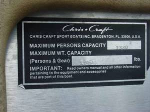 1982 Chris Craft 210 Scorpion Stock: NC6716WK | Lanier Marine