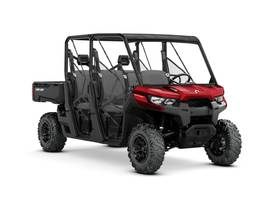 New  2019 Can-Am® Defender MAX DPS HD8 Intense Red Golf Cart / Utility in Houma, Louisiana
