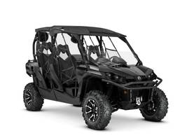 New  2019 Can-Am® Commander MAX LIMITED 1000R Golf Cart / Utility in Houma, Louisiana