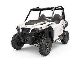 New  2019 Polaris® GENERAL® 1000 EPS White Lightning Golf Cart / Utility in Houma, Louisiana