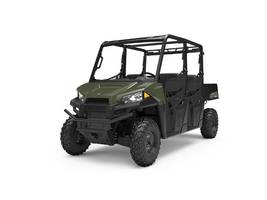 New  2019 Polaris® RANGER CREW® 570-4 Sage Green Golf Cart / Utility in Houma, Louisiana