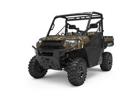 New  2019 Polaris® Ranger XP® 1000 EPS Premium Polaris Pursuit Camo Golf Cart / Utility in Houma, Louisiana