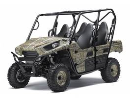 Used  2013 Kawasaki Teryx4 750 4x4 Electronic Power Steering Camo Golf Cart / Utility in Houma, Louisiana