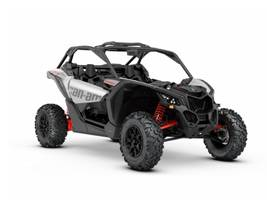 2020 Maverick X3 Turbo Hyper Silver Can-Am Red