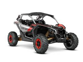 2020 Can-Am™ Maverick X3 X rs Turbo RR Gold Black Can-Am Red 1
